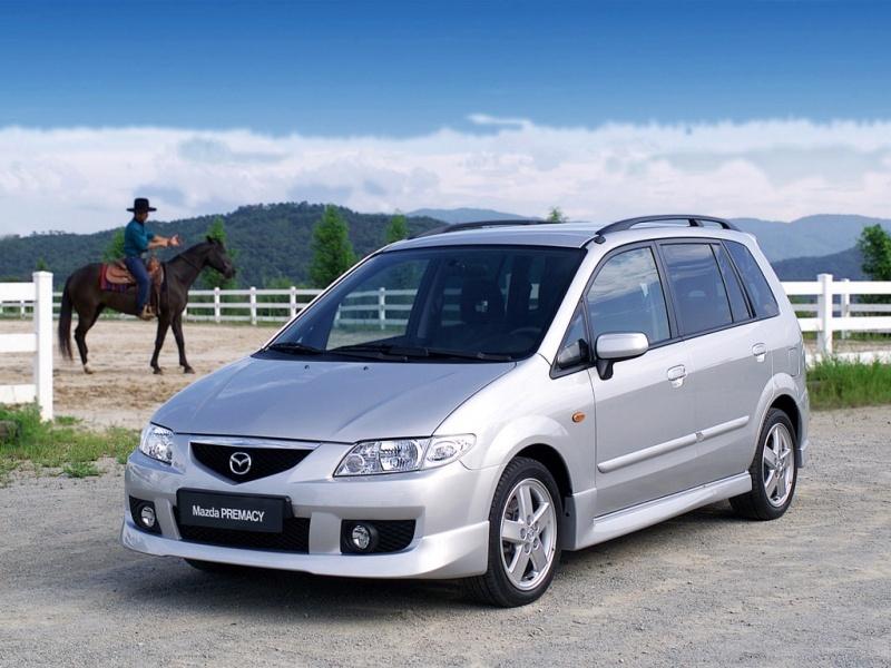 сравнение автомобиля mazda premacy с другими автомобилями